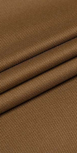Golden brown 100% wool business fit suit