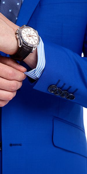 Premium Royal Blue Custom Suit